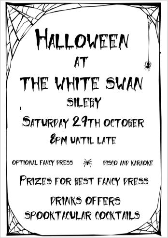 Halloween Poster Image for social media etc